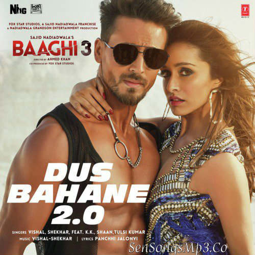 bhaagi 3 songs download